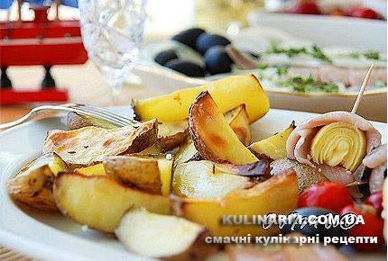 Картопля запечена рецепт з фото