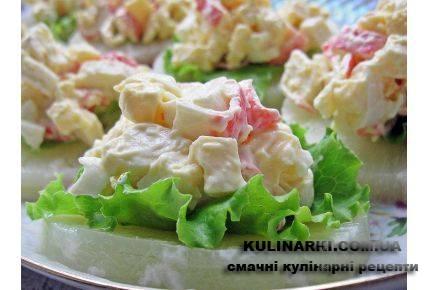 Порционные закуски рецепты с фото простые