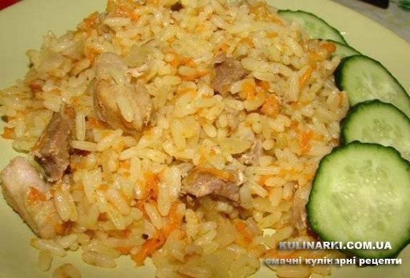 Плов из пропаренного риса в мультиварке рецепты с фото пошагово