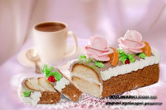 Приготовление тортов сказка с фото