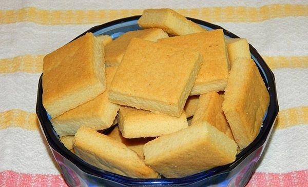 Розсипчасте печиво без яєць