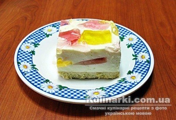 сирний торт рецепт с фото