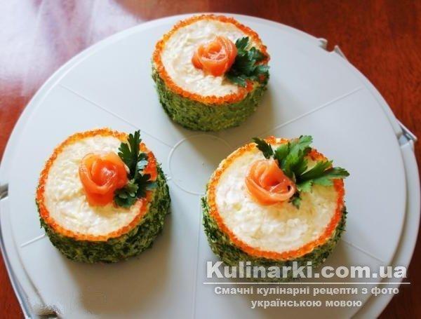 рецепти святкових закусок з фото
