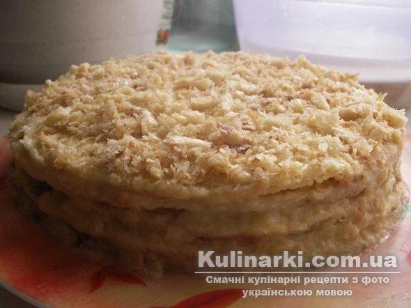 Торт наполеон легкий рецепт пошагово 146